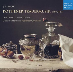 Daniel Ochoa - Audio CD - Köthener Trauermusik